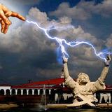 BBJ Lightning Strike